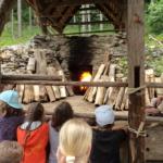 Burgbau Friesach Kalkbrand Juni 2016